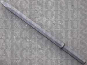 Szpic 32x160 mm Hex, sześciokąt